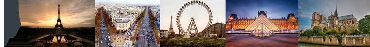 Tres viajes para dos personas a París