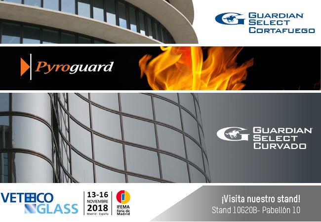 Control Glass A&S fabricante de vidrio especial presenta en Veteco 2018 su gama de productos